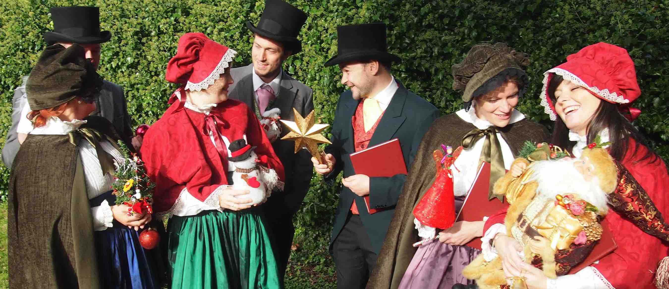 Victorian Carol Singers Hire UK London
