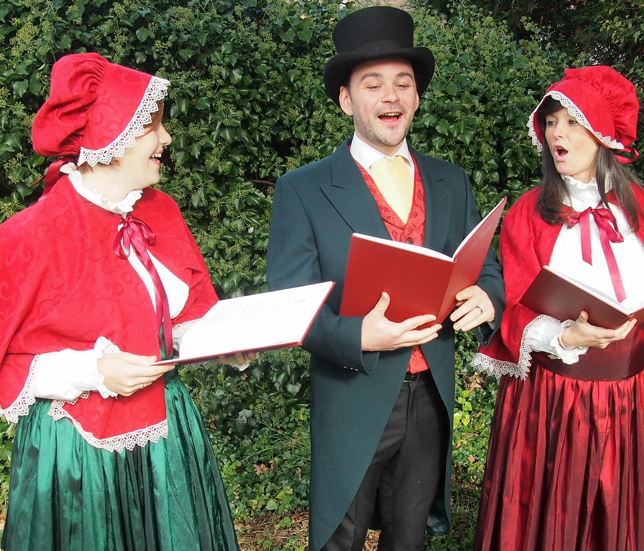 Victorian Carol Singers Hire Uk