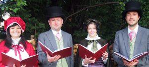 Victorian Carollers hire UK