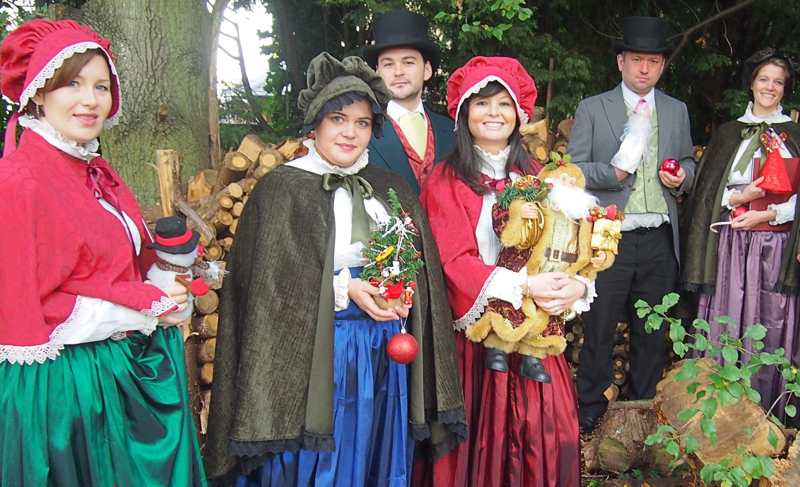 Victorian Carol Singers Performers Uk Victorian Carol Singers Hire Uk